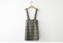 plaid skirt ladies bottoms with suspenders lovely palid tight skirt for wonman
